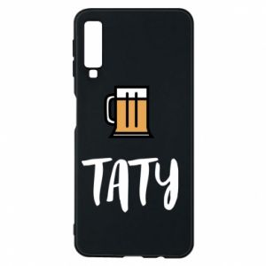 Phone case for Samsung A7 2018 Daddy and beer