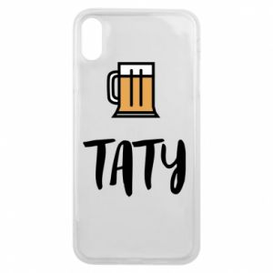 Phone case for iPhone Xs Max Daddy and beer