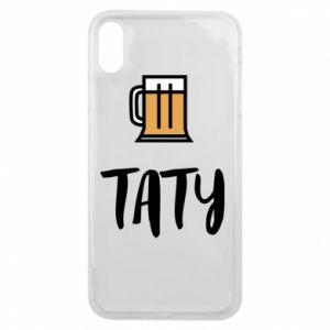 Etui na iPhone Xs Max Tata i piwo