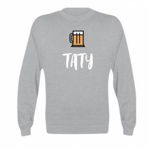 Bluza dziecięca Tata i piwo