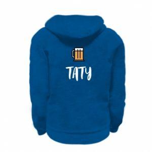 Bluza na zamek dziecięca Tata i piwo