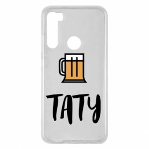 Xiaomi Redmi Note 8 Case Daddy and beer