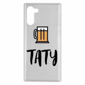 Etui na Samsung Note 10 Tata i piwo