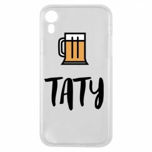 Phone case for iPhone XR Daddy and beer