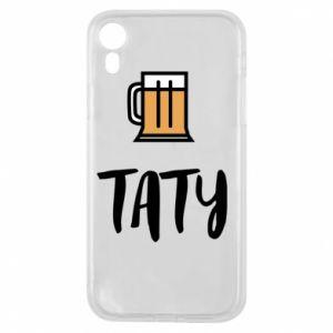 Etui na iPhone XR Tata i piwo