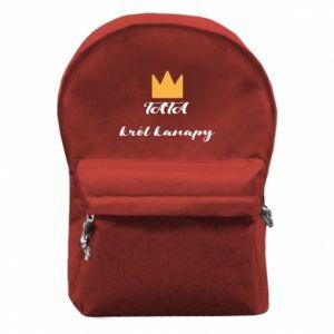 Plecak z przednią kieszenią Tata król kanapy