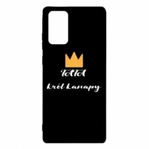 Etui na Samsung Note 20 Tata król kanapy
