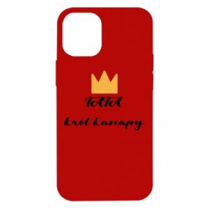 Etui na iPhone 12 Mini Tata król kanapy