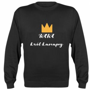 Sweatshirt Dad, king of the couch - PrintSalon