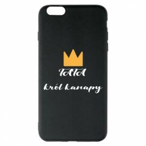 Etui na iPhone 6 Plus/6S Plus Tata król kanapy