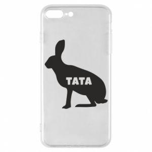 Etui na iPhone 7 Plus Tata - królik
