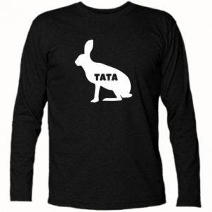 Koszulka z długim rękawem Tata - królik