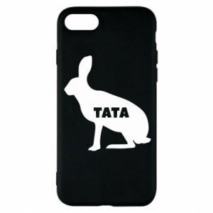 Etui na iPhone 8 Tata - królik