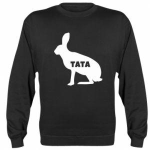 Bluza (raglan) Tata - królik