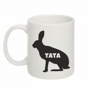 Kubek 330ml Tata - królik