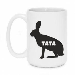 Kubek 450ml Tata - królik
