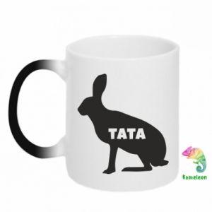 Kubek-kameleon Tata - królik