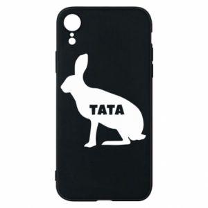Etui na iPhone XR Tata - królik