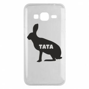 Etui na Samsung J3 2016 Tata - królik