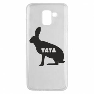 Etui na Samsung J6 Tata - królik
