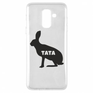 Etui na Samsung A6+ 2018 Tata - królik