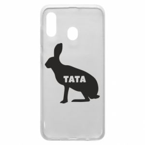 Etui na Samsung A20 Tata - królik