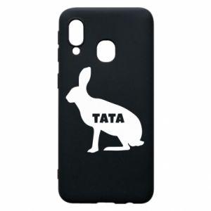 Etui na Samsung A40 Tata - królik