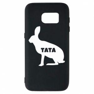 Etui na Samsung S7 Tata - królik