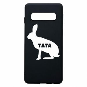Etui na Samsung S10 Tata - królik
