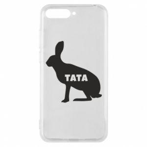 Etui na Huawei Y6 2018 Tata - królik