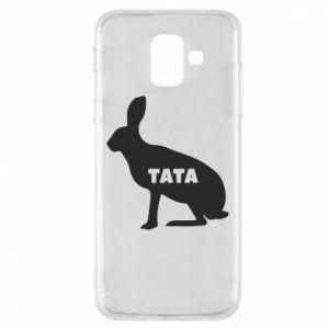 Etui na Samsung A6 2018 Tata - królik
