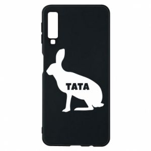 Etui na Samsung A7 2018 Tata - królik