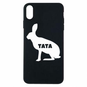Etui na iPhone Xs Max Tata - królik