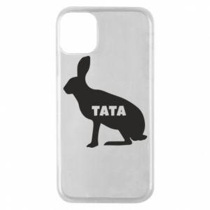 Etui na iPhone 11 Pro Tata - królik