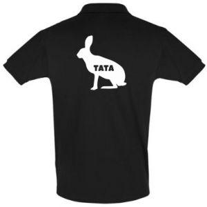 Koszulka Polo Tata - królik