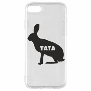 Etui na iPhone 7 Tata - królik
