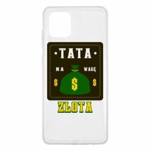 Etui na Samsung Note 10 Lite Tata na wagę zlota
