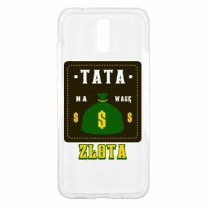 Etui na Nokia 2.3 Tata na wagę zlota