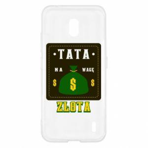 Etui na Nokia 2.2 Tata na wagę zlota