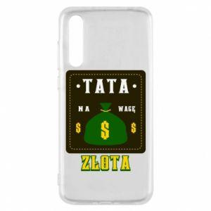 Etui na Huawei P20 Pro Tata na wagę zlota