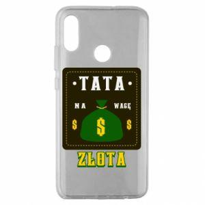 Etui na Huawei Honor 10 Lite Tata na wagę zlota