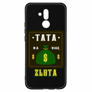 Etui na Huawei Mate 20 Lite Tata na wagę zlota