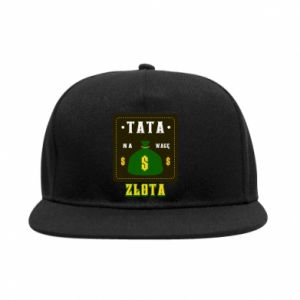 Snapback Tata na wagę zlota