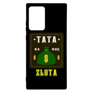 Etui na Samsung Note 20 Ultra Tata na wagę zlota