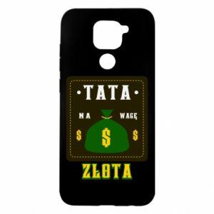 Xiaomi Redmi Note 9 / Redmi 10X case % print% Dad is worth his weight in gold