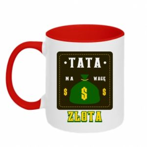 Two-toned mug Dad is worth his weight in gold
