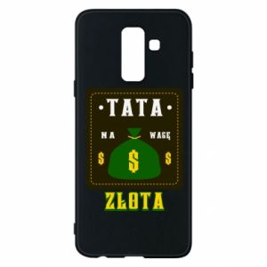 Etui na Samsung A6+ 2018 Tata na wagę zlota