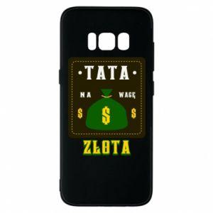 Etui na Samsung S8 Tata na wagę zlota