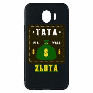 Etui na Samsung J4 Tata na wagę zlota
