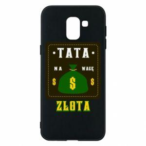 Etui na Samsung J6 Tata na wagę zlota